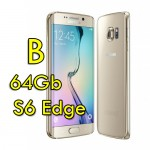 Smartphone Samsung Galaxy S6 Edge SM-G925F 5.1' FHD 4G 64Gb 16MP Gold [Grade B]