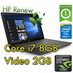 Notebook HP Pavilion Power 15-cb028nl i7-7700HQ 8Gb 1Tb+128Gb SSD 15.6' NVIDIA GeForce GTX 1050 Win 10 HOME