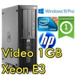 Workstation HP Z220 Workstation SFF Xeon E3-1230V2 3.3GHz 4GB 250GB DVDRW Windows 10 Professional