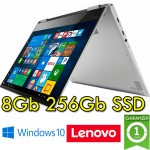 Notebook Lenovo Yoga 720-13IKBR 1.8GHz i7-8550U 8Gb 256Gb SSD 13.3' Touch  Ibrido (2 in1)  Windows 10
