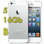 iPhone 5 16Gb Bianco ME040J/A MD298B/A Originale iOS 10 [Grade B]