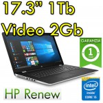 Notebook HP 17-bs003nl Intel i5-7200U 8Gb 1TB 17.3' AMD Radeon 520 Windows 10 Home