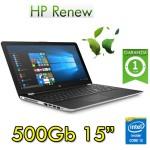 Notebook HP 15-bs048nl Core i3-6006U 4Gb 500Gb 15.6'DVD Windows 10