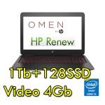 Notebook HP OMEN 15-ce014nl Core i5-7300HQ 8Gb 1Tb+128Gb 15.6' Windows 10