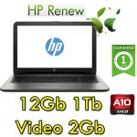 Notebook HP 15-ba031nl AMD A10-9600P 12Gb 1 Tb 15.6' LED AMD Radeon R7 M440 2GB Windows 10 HOME