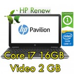 Notebook HP Pavilion 15-au147nl Core i7-7500U 16Gb 1TB 15.6' FHD Nvidia GeForce 940MX 2GB Windows 10 HOME