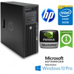 Workstation HP Z220 CMT Xeon E3-1245 V2 3.4GHz 8Gb 500Gb NVIDIA QUADRO 410 512MB Windows 10 Professional