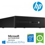PC HP EliteDesk 800 G1 SFF Core i3-4150 3.5GHz 4Gb 500Gb noODD Windows 10 Professional