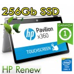 Notebook HP Pavilion x360 14-ba019nl i3-7100U 8Gb 256Gb SSD 13.3' Windows 10 Home