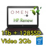 Notebook HP OMEN 15-ax012nl i7-6700QH 8Gb 1Tb 15.6' Windows 10 Home