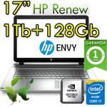 Notebook HP ENVY 17-ae103nl i7-8550U 16Gb 1Tb + 128Gb SSD 17.3' Windows 10 Home
