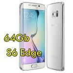 Smartphone Samsung Galaxy S6 Edge SM-G925F 5.1' FHD 4G 64Gb 16MP White Pearl