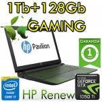 Notebook HP Pavilion Power 15-cb030nl i7-7700HQ 16Gb 1Tb+128Gb SSD Video 4Gb 15.6' Windows 10 Home