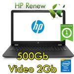 Notebook HP 15-bs004nl Core i3-6006U 4Gb 500Gb 15.6' HD AMD Radeon 520 2GB Windows 10 HOME