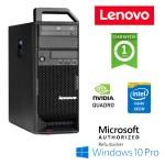 Workstation Lenovo ThinkStation S20  Xeon W3550 4 Core 12Gb 1Tb DVD Quadro 4000 Windows 10 Professional