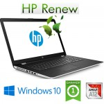 Notebook HP 17-AK000NL AMD A9-9420P 3.0GHz 8Gb 1Tb 17.3' DWDRW HD AMD Radeon 530 2GB Windows 10 HOME