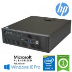 PC HP EliteDesk 800 G1 SFF Core i3-4130 3.4GHz 4Gb 500Gb DVD-RW Windows 10 Professional