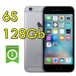 iPhone 6S 128Gb Space Gray NKQT2ZD/A Grigio Siderale 4G Wifi Bluetooth 4.7' 12MP Originale