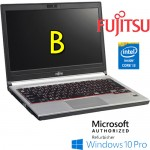 Notebook Fujitsu Lifebook E734 Core i3-4000M 4Gb Ram 128Gb SSD DVDRW 13.3' LEGGERO Windows 10 Professional