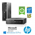 PC HP Compaq 8300 Elite Core i5-3470 3.2GHz 8Gb Ram 240Gb SSD DVD SFF Windows 10 Professional