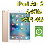 iPad Air 2 64Gb Gold WiFi Cellular 4G 9.7' Retina Bluetooth Webcam MH172TY/A