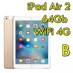 iPad Air 2 64Gb Gold WiFi Cellular 4G 9.7' Retina Bluetooth Webcam MH172TY/A [GRADE B]