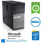 PC Dell Optiplex 7010 Core i7-3770 3.4GHz 8Gb 500Gb DVD-RW Windows 10 Professional TOWER