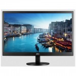 MONITOR AOC LCD LED 19.5 WIDE E2070SWN 5ms 0.27 1600x900 600:1 BLACK VGA Vesa