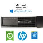 PC HP Compaq 6300 Pro SFF Core i3-3220 3.3GHz 4Gb Ram 500Gb DVD Windows 10 Professional