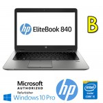 Notebook HP EliteBook 840 G1 Core i5-4300U 4Gb 180Gb SSD 14'  Windows 10 Professional [GRADE B]