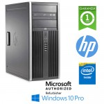 PC HP Compaq 6300 Pro CMT Pentium G870 3.1GHz 4Gb Ram 500Gb DVD Windows 10 Professional Tower
