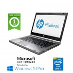 Notebook HP EliteBook 8470p Core i5-3340M 2.7GHz 4Gb Ram 320Gb 14.1' LED HD DVD-RW Windows 10 Professional