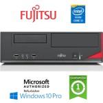 PC Fujitsu Esprimo E520 E85+ Core i3-4130 4Gb Ram 500Gb DVD-RW Windows 10 Professionl