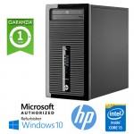 PC HP ProDesk 400 G1 MT Core i5-4570 3.2GHz 4Gb 500Gb DVD-RW SERIALE Windows 10 HOME TOWER
