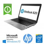 Notebook HP EliteBook 820 G1 Core i5-4300U 8Gb 256Gb SSD 12.5' HD AG LED Windows 10 HOME