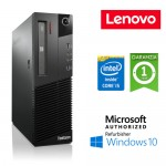 PC Lenovo ThinkCentre M83p SFF Core i5-4570 3.2GHz 4Gb Ram 500Gb DVD-RW Windows 10 HOME