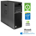 Workstation HP Z640 Xeon E5-2637 V3 3.5GHz 15Mb Cache 32Gb RAM 1Tb NVIDIA QUADRO K2200 Windows 10 Professional