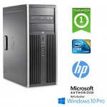 PC HP Compaq 8000 ELITE CMT Core 2 Duo E8500 3.1GHz 4Gb RAM 320Gb DVD-RW Windows 10 Professional TOWER