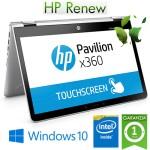 Notebook HP Pavilion x360 14-cd0015n Intel Pentium Gold 4415U 8Gb 128Gb SSD 14' HD SVA Windows 10 HOME