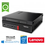 PC Lenovo Thinkcentre M920Q TINY Core i3-8100T 3.1GHz 8Gb Ram 500Gb DVD-RW Windows 10 Professional 3Y