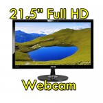Monitor LCD 22 Pollici Asus VK228H Full HD LED 1920x1080 HDMI USB Webcam Black NUOVO