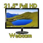 Monitor LCD 22 Pollici Asus VK228H Full HD LED 1920x1080 HDMI USB Webcam Black NUOVO