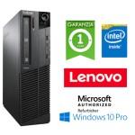 PC Lenovo Thinkcentre M82 Intel Pentium G2020 2.9GHz 4Gb Ram 250Gb DVD Windows 10 Professional SFF