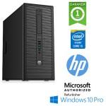 PC HP ProDesk 600 G1 Core i5-4670 3.4GHz 4Gb 500Gb DVD-RW Windows 10 Professional Tower