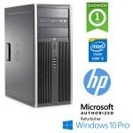 PC HP Compaq 6200 Pro CMT Core i5-2400 3.1GHz 4Gb Ram 250Gb DVD-RW Windows 10 Professional Tower