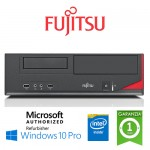 PC Fujitsu Esprimo E520 E85+ G3220 4Gb Ram 250Gb DVD-RW Windows 10 Professional