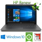 Notebook HP 15-DB0101NL AMD A9-9425 3.1GHz 8Gb 1Tb 15.6' HD LED DVD-RW Windows 10 HOME