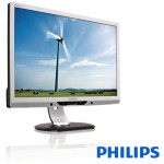 Monitor PC LED Philips Brilliance 225PL2ES-00 22 Pollici Wide VGA DVI Black-Silver