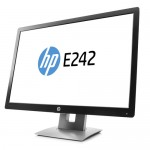 Monitor HP EliteDisplay E242 24 Pollici LED Full-HD Black-Silver