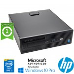 PC HP ProDesk 600 G1 Core i3-4330 3.5GHz 4Gb 500Gb No-ODD Windows 10 Professional SFF